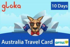 Sim du lịch Úc 10 ngày