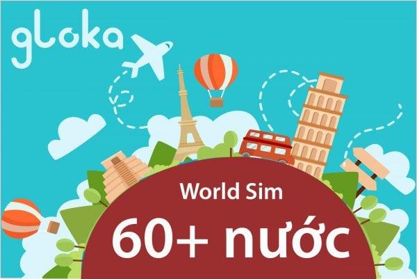 World SIM 60 countries