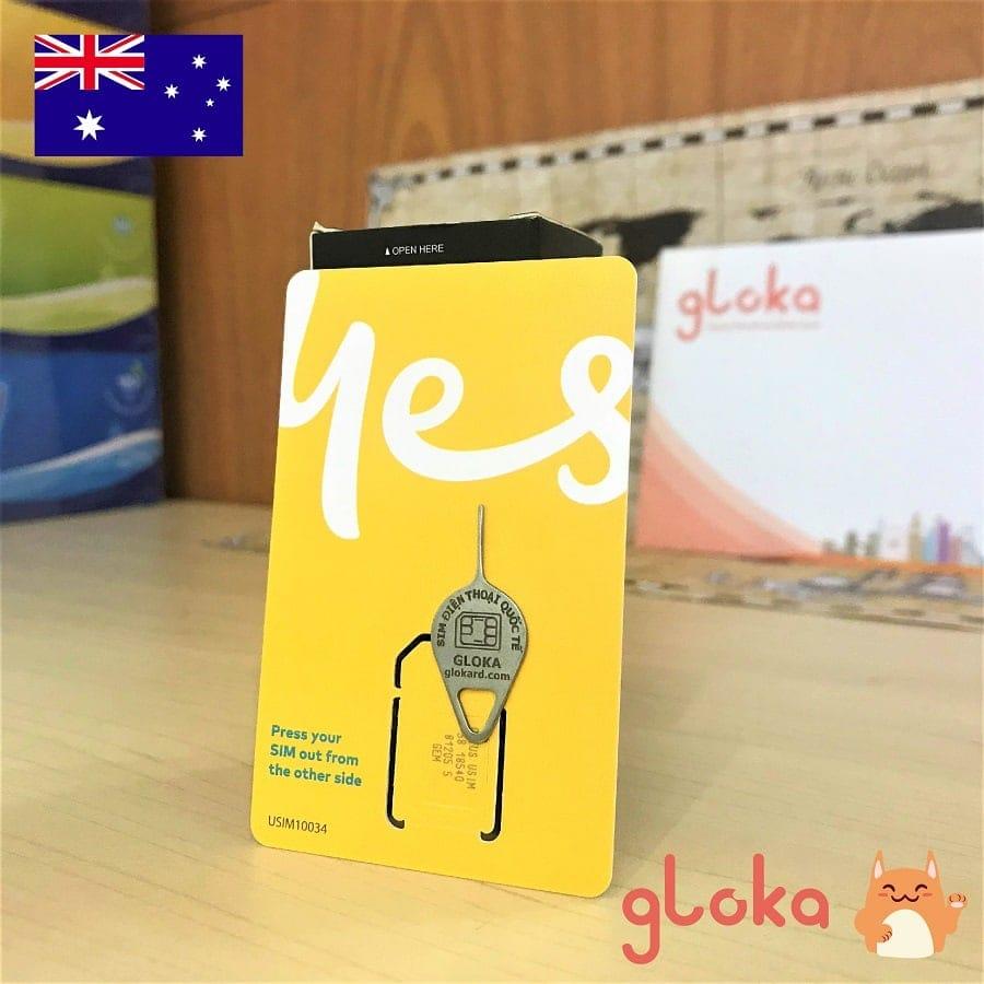 Sim điện thoại Úc Optus