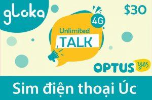 Sim điện thoại Úc Optus chính hãng
