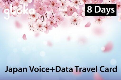 Sim du lịch Nhật nghe gọi