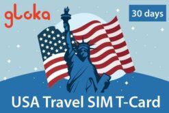 USA travel sim card three hongkong 8gb 30 days