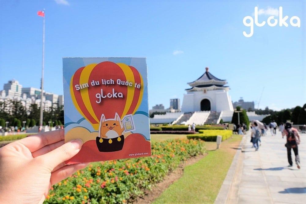 sim 4G du lịch đài loan Gloka