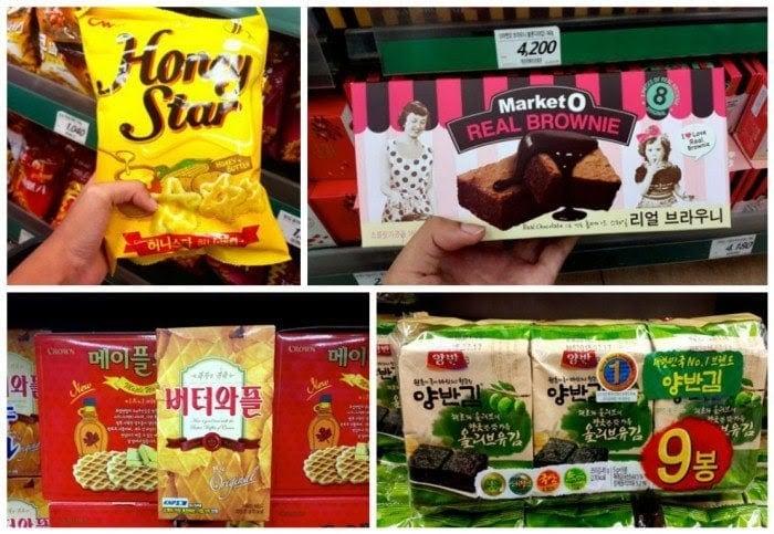 Bánh snack Hàn Quốc
