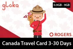 Canada travel sim card data only 3-30 days gloka