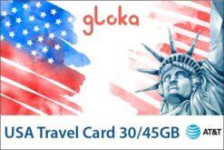 sim data du lịch mỹ W-card gloka