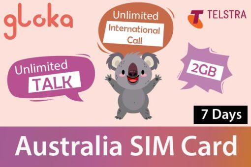 Sim Úc Telstra 7 ngày