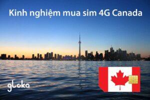 Kinh nghiệm mua sim Canada