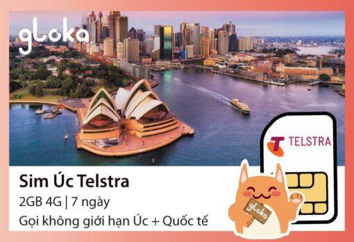 Sim Úc Telstra Gloka