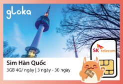 Sim Hàn Quốc SK Telecom Gloka