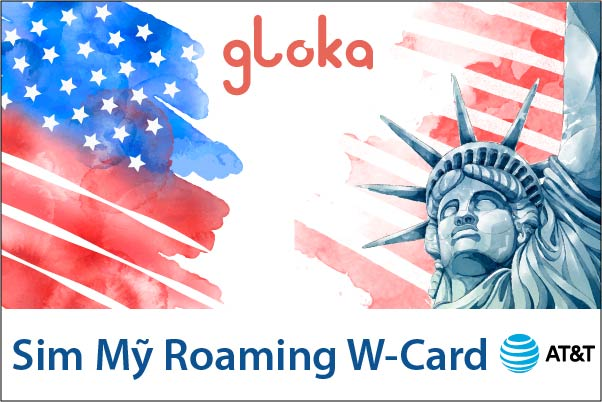 Sim Mỹ Roaming W-card