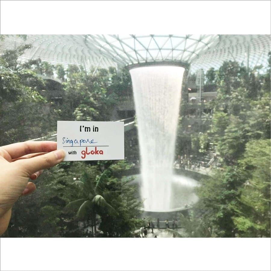 travel with gloka in singapore