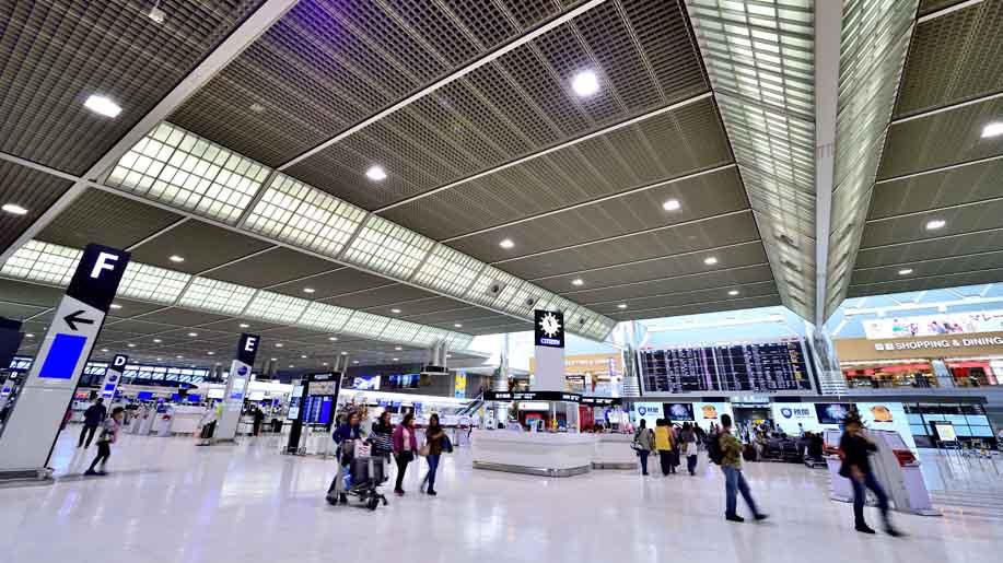 Sân bay Narita - Nhật Bản. Image Cre: businesstraveller