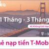 Thẻ nạp tiền sim T-Mobile gói 4G không giới hạn