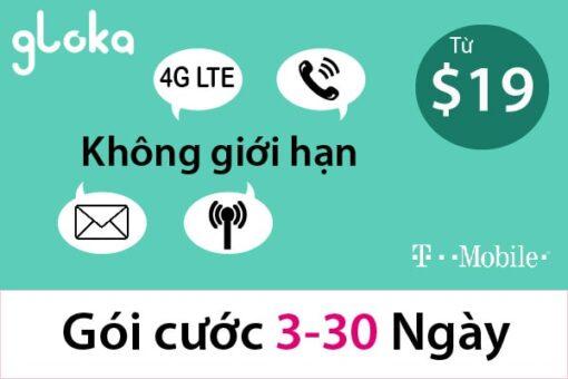 Sim du lịch mỹ t-mobile 3-30 ngày