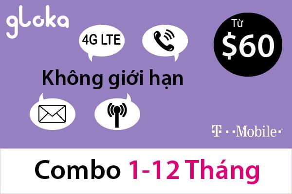 Sim mỹ dài hạn t-mobile 1-12 tháng