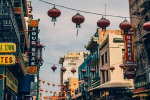 Chinatown - Image source: unsplash