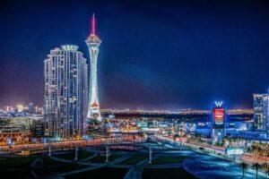 Khám phá Las Vegas - Stratosphere. Image source: pexels