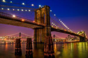 Cây cầu Brooklyn - Image source: pexels