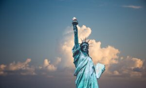 Tượng nữ thần tự do - Image source: pexels
