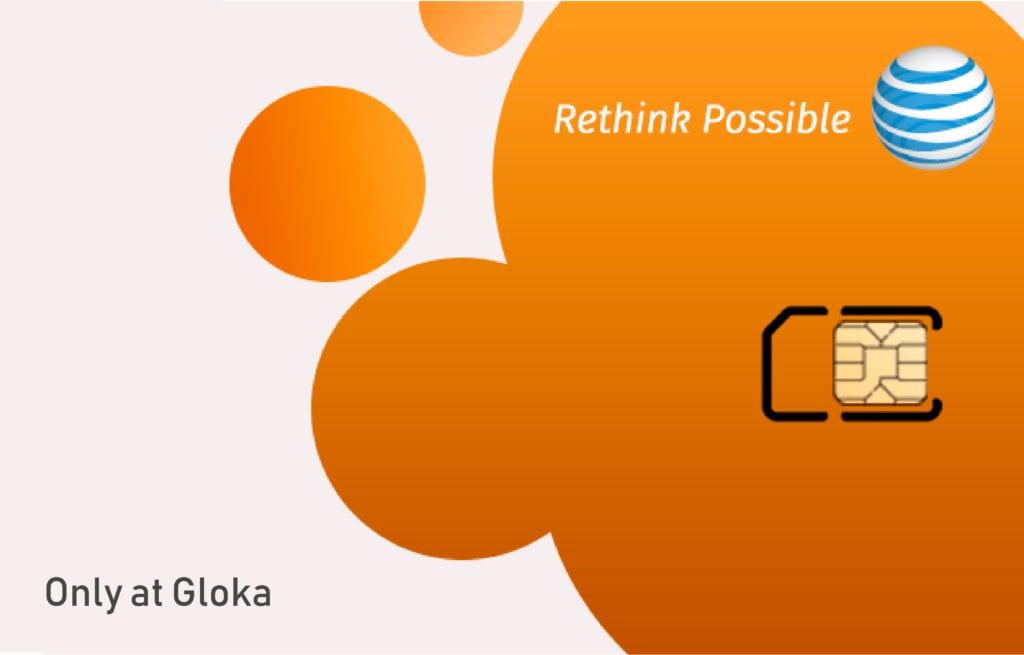 Sim 5G Mỹ AT&T chính hãng mua tại Gloka