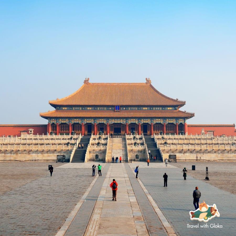 Du lịch Bắc Kinh - Tham quan Tử Cấm Thành