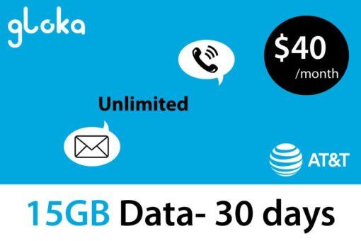 AT&T 15GB $40